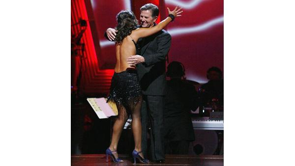 Tom DeLay, Cheryl Burke on 'Dancing With the Stars: The Results Show', Sept. 29, 2009