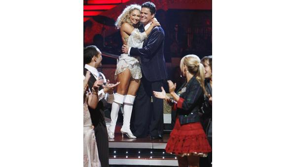 Donny Osmond and Kym Johnson on 'Dancing With the Stars: The Results Show', Sept. 29, 2009