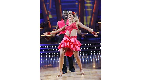 Michael Irvin, Anna Demidova on 'Dancing With the Stars', Oct. 5, 2009