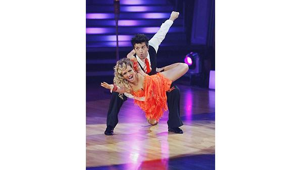 Melissa Joan Hart, Mark Ballas on 'Dancing With the Stars', Oct. 5, 2009