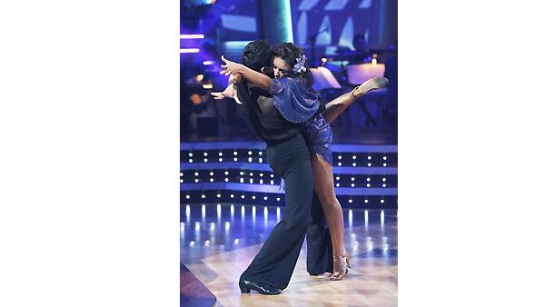 Mya, Dmitry Chaplin on 'Dancing With the Stars', Oct. 5, 2009