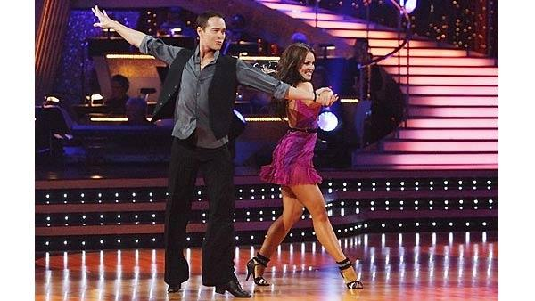 Mark Dacascos, Lacey Schwimmer on 'Dancing With the Stars', Oct. 5, 2009