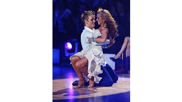 Aaron Carter, Karina Smirnoff on 'Dancing With the Stars', Oct. 5, 2009