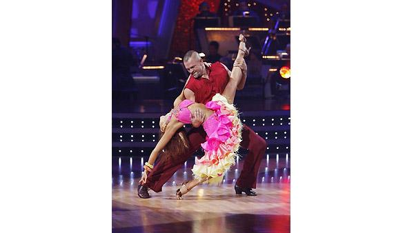 Chuck Lidell, Anna Trebunskaya on 'Dancing With the Stars', Oct. 5, 2009