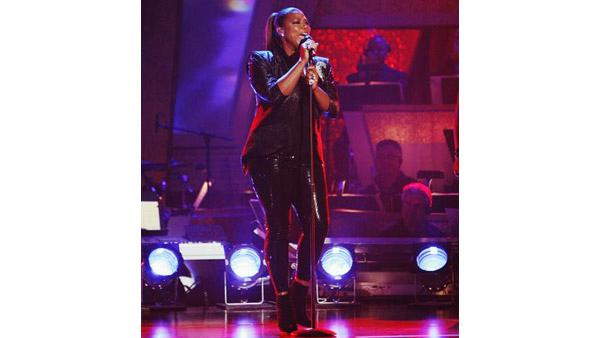 Queen Latifah performs on 'D