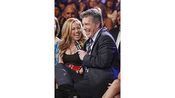Sabrina Bryan in audience at 'Dancing With the Stars: The Results Show,' Oct. 6, 2009