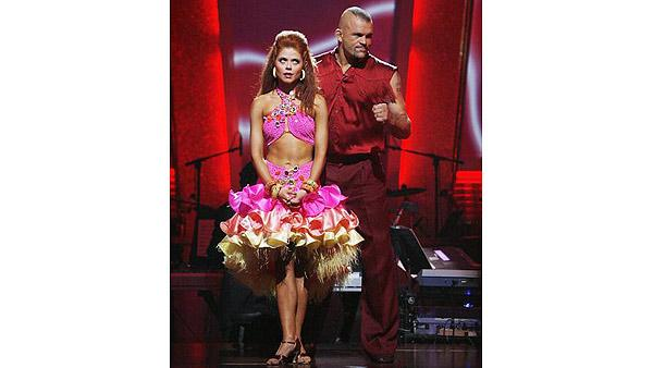 Chuck Lidell, Anna Trebunskaya on 'Dancing With the Stars: The Results Show,' Oct. 6, 2009
