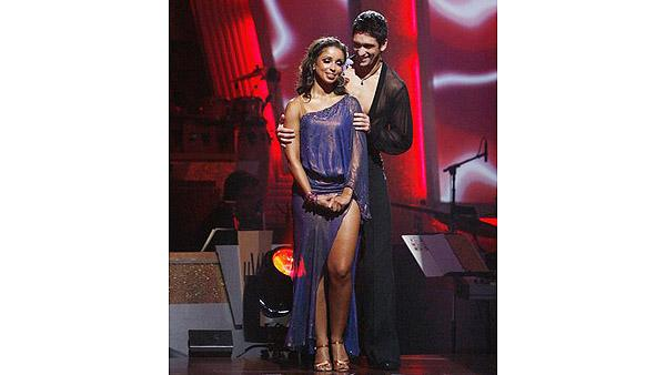 Mya, Dmitry Chaplin on 'Dancing With the Stars: The Results Show,' Oct. 6, 2009