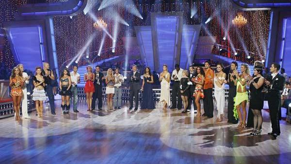 Remaining couples during 'Dancing With the Stars,' Oct. 12, 2009