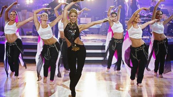 Shakira performs on 'Dancing With the Stars,' Oct. 13, 2009
