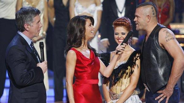 Chuck Liddell and Anna Trebunskaya on 'Dancing With the Stars,' Oct. 13, 2009