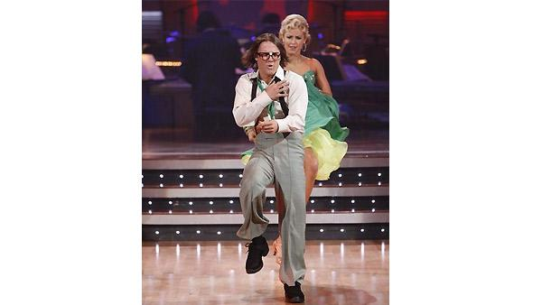 Louie Vito and Chelsie Hightower perform during 'Dancing With the Stars,' October 26, 2009