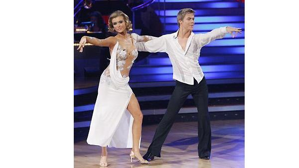 Joanna Krupa and Derek Hough perform during 'Dancing With the Stars,' Monday, November 2, 2009
