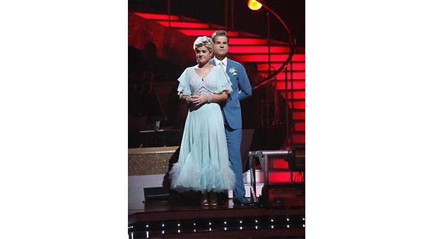 Kelly Osbourne and Louis Van Amstel are seen on 'Dancing With the Stars: The Results Show,' November 10, 2009
