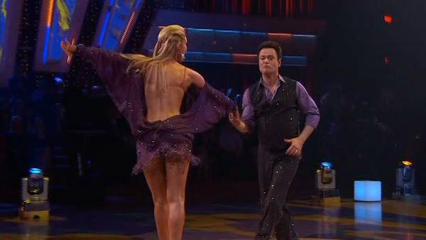 Donny Osmond and Kym Johnson perform during 'Dancing With the Stars,'  November 16, 2009
