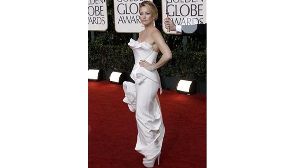 Kate Hudson arrives at the 67th Annual Golden Globe Awards