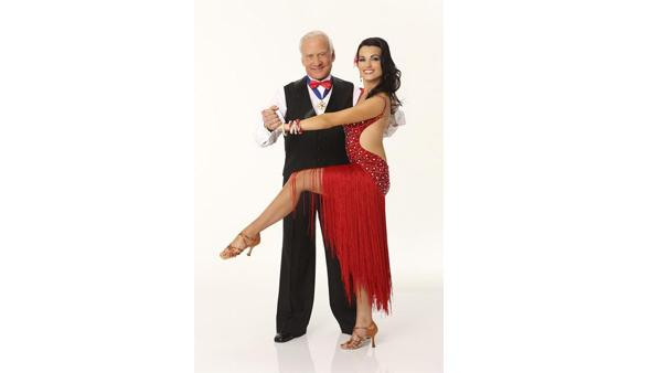 Astronaut Buzz Aldrin partners with Ashly Costa (formerly DelGrosso), who returns for her fourth season of 'Dancing With the Stars.'