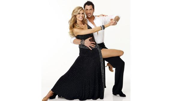 ESPN reporter Erin Andrews joins Maksim Chmerkovskiy, who returns for his eighth season of 'Dancing With the Stars.