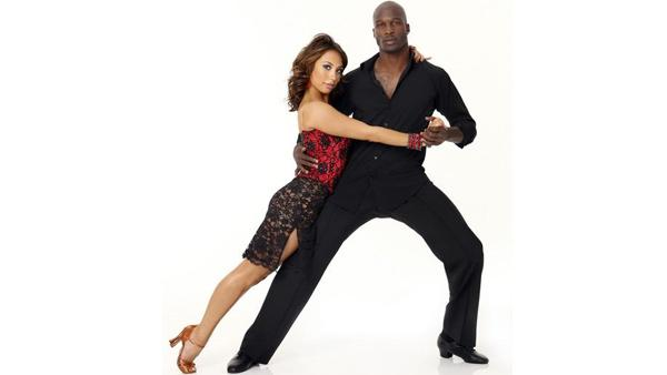 NFL wide receiver Chad Ochocinco joins two-time 'Dancing With the Stars' champ Cheryl Burke, who returns for her ni