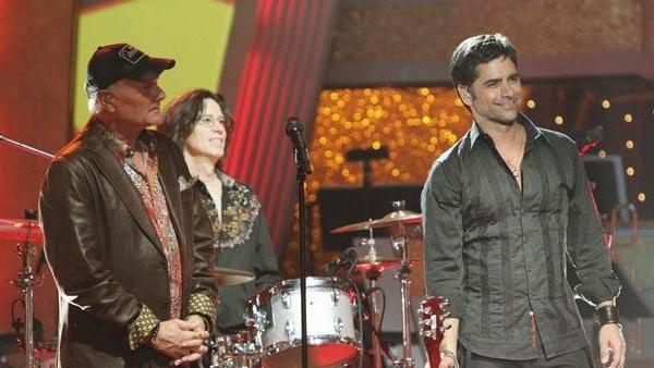 John Stamos and The Beach Boys performed a medley of their hits as professional dancers performed on 'Dancing With the Stars: The Results Show,' Tuesday, March 30, 2010.