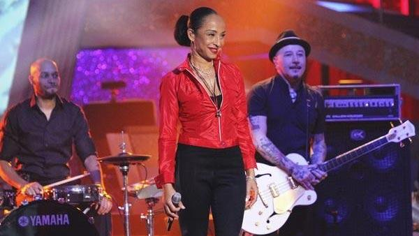 Grammy Award-winning group Sade headlined by vocalist Sade Adu performed from their latest album on 'Dancing With the Stars: The Results Show,' Tuesday, April 13, 2010.
