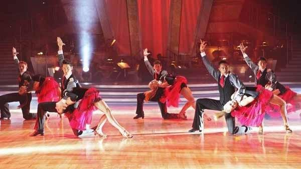 'Dancing With the Stars' Ballroom Kids Champions took to the stage in a performance choreographed by 'Dancing with the Stars' professional dancer and two-time champion Mark Ballas, on 'Dancing With the Stars: The Results Show,' Tuesday, April 13, 2