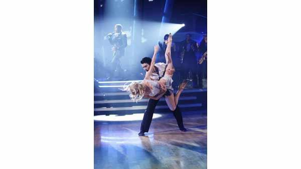 Platinum-selling soul star Maxwell performed his chart-topping single 'Fistful of Tears', on 'Dancing with the Stars the Results Show', Tuesday, April 20. The dancers are Tyne Stecklein and Teddy Forance.