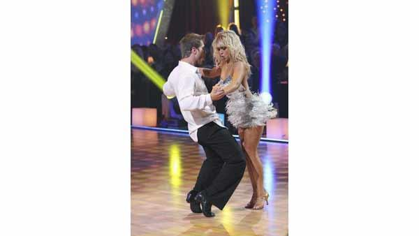 'Bachelor' Jake Pavelka and Chelsie Hightower perform on 'Dancing With the Stars: The Results Show,' Tuesday, April 20, 2010.