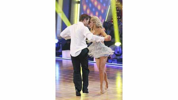 'Bachelor' Jake Pavelka and Chelsie Hightower gave an encore performance on 'Dancing With the Stars: The Results Show,' Tuesday, April 20, 2010. The couple scored 23 points out of 30 on Monday's show.