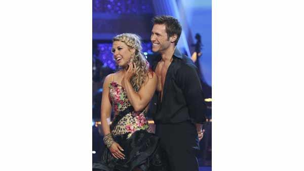 'Bachelor' Jake Pavelka and partner Chelsie Hightower perform the Samba on week six of 'Dancing With the Stars,' Monday, April 26, 2010.
