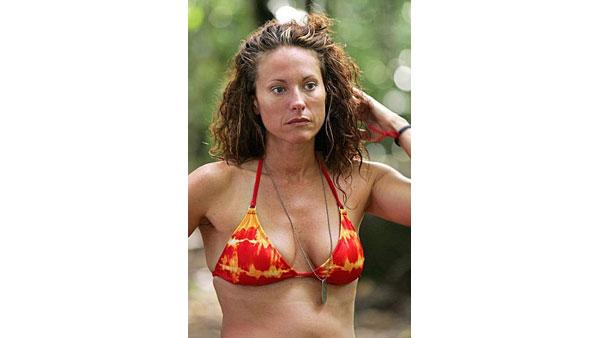 Jerri Lynn Manthey appeared on the Television reality show 'Survivor; The Australian Outback.'  Following this appearance, Manthey posed nude in the September 2001 issue  of 'Playboy ' and appeared on 'Young and the Restless', 'Blind Date'