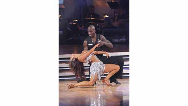 Chad Ochocinco and Cheryl Burke gave an encore performance of their 'Lady Gaga' group cha-cha on 'Dancing With the Stars: The Results Show,' Tuesday, May 4, 2010.