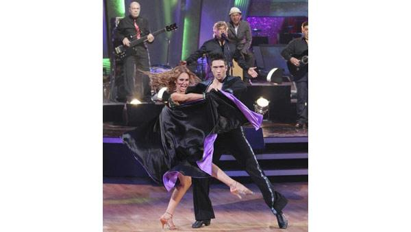 The Gipsy Kings perform as pros Tony, Cheryl, Dmitry and Kym accompanied them on the dance floor in a Paso Doble on 'Dancing With the Stars: The Results Show,' Tuesday May 11, 2010.