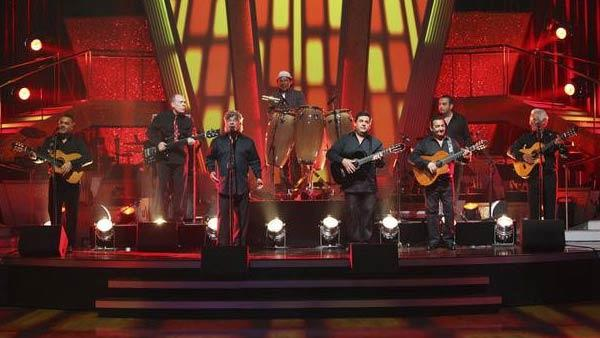 Gipsy Kings performed their hit 'Bamboleo,' accompanied by professional dancers, on 'Dancing With the Stars: The Results Show,' Tuesday May 11, 2010.