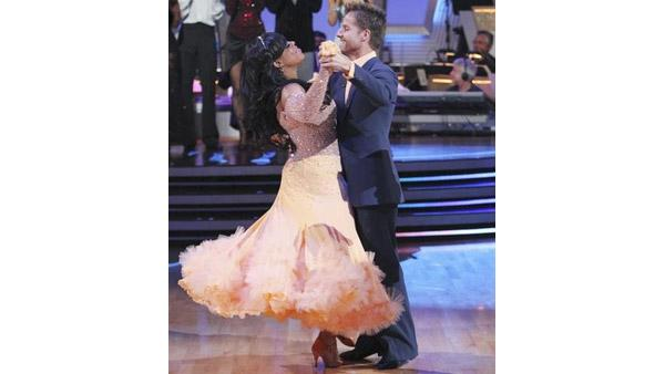 Niecy Nash and Louis Van Amstel were sent home on 'Dancing With the Stars: The Results Show,' Tuesday May 11, 2010.