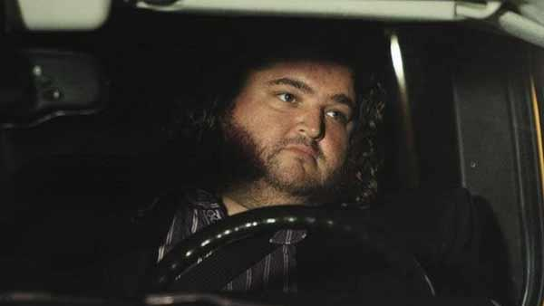Hurley (Jorge Garcia) in the sideways world, where he is a baller.