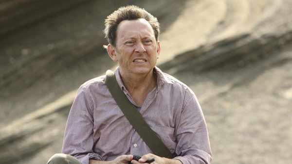 Ben Linus (Michael Emerson) - there are two situations he would be in that would prompt such an expression. One would be learning that the Island is about to sink.
