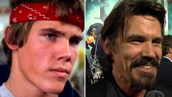 Josh Brolin was about 17 when he starred as 'Brand' in the 1985 movie 'The Goonies'. He later starred in 'No Country For Old Men' in 2007 and played former President George W. Bush in 'W' in 2008. He now stars in the new film 'Jonah Hex' with Megan Fox.