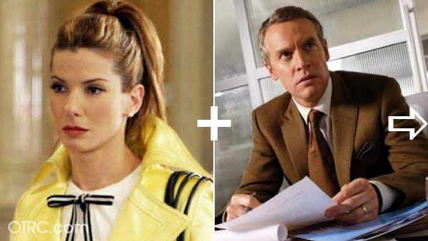Sandra Bullock was once engaged to actor Tate Donovan. The p