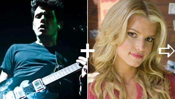 Jessica Simpson and John Mayer da