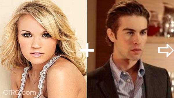 Chace Crawford and Carri