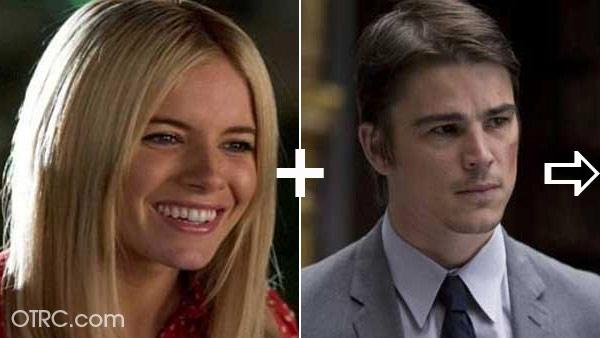 Actor Josh Hartnett was linked to Sienna Miller in 2007.