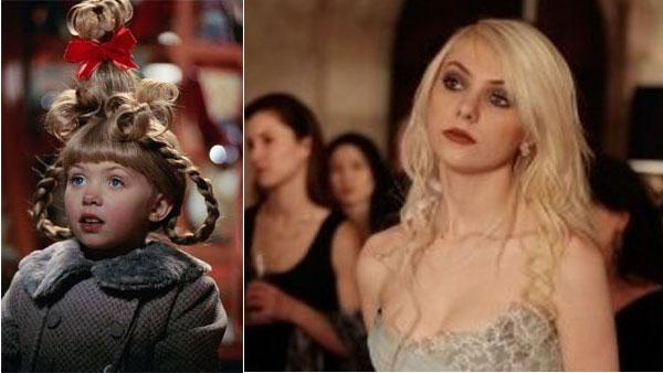 Taylor Momsen found fame when she played Cindy Lou Who in 2000's 'How the Grinch Stole Christmas.' She us currently most famous for playing Jenny Humphrey in the CW's 'Gossip Girl'.
