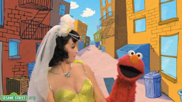 Producers for 'Sesame Street' say they won't air a taped segment featuring singer Katy Perry and Elmo. The duet, seen on YouTube, was an adaptation of Perry's song 'Hot and Cold.'