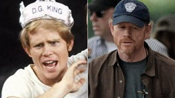 Ron Howard played the role of Richie Cunningham on the 1970s sitcom 'Happy Days.' Howard is an Academy Award-winning director.