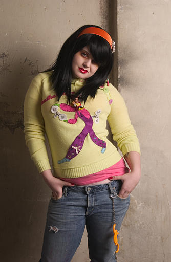 Kelly Osbourne poses at Chelsea Market in New York on April 25, 2005. <span class=meta>(AP Photo&#47;Jim Cooper)</span>