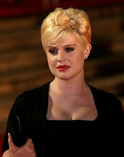 Kelly Osbourne arrives at London's Earl's Court...