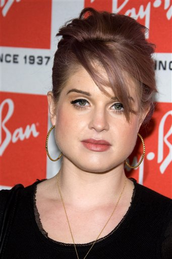 Kelly Osbourne arrives at the Ray-Ban Aviator...