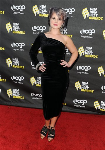 Kelly Osbourne arrives at Logo Network's Third...