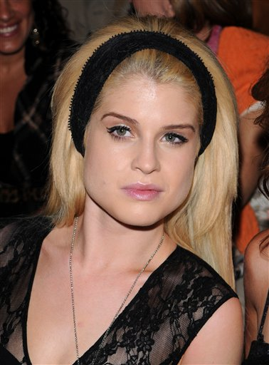 Reality star Kelly Osbourne attends the Tracy Reese Spring 2011 collection during fashion week at Lincoln Center, in New York, on Monday, Sept. 13, 2009.